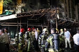Blast at Tehran clinic kills 19