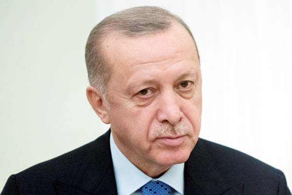 Erdogan says EU's treatment of Turkey over coronavirus is political