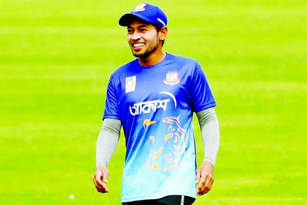 Mushfiqur Rahim starts practice