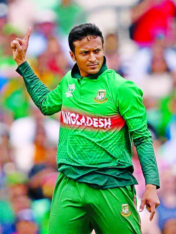 Shakib Al Hasan rated as 2nd MVP of 21st century in ODI