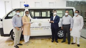 FBCCI donates ambulance to Al-Rashid Foundation