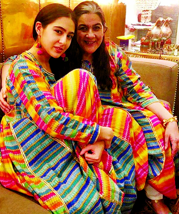 Sara Ali Khan is twinning with her mother Amrita Singh