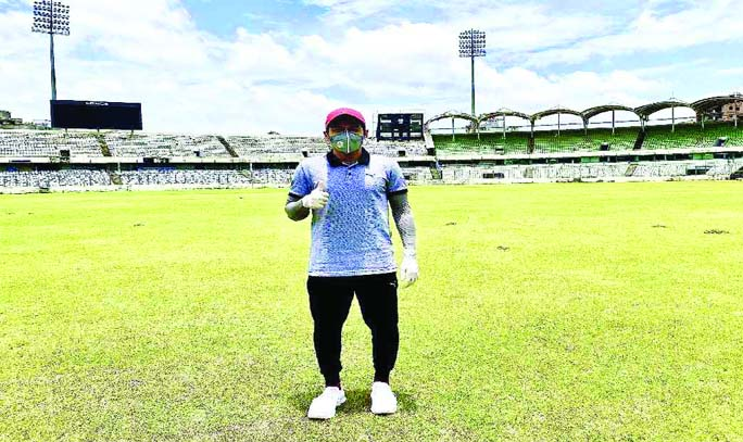 Mushfiqur visits SBNCS after four months