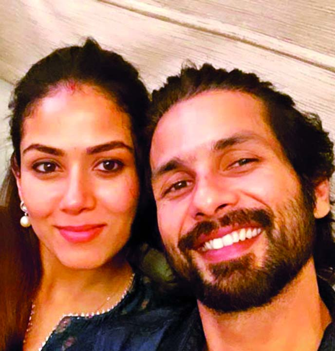 Shahid Kapoor's emotional note for his lady love Mira Rajput