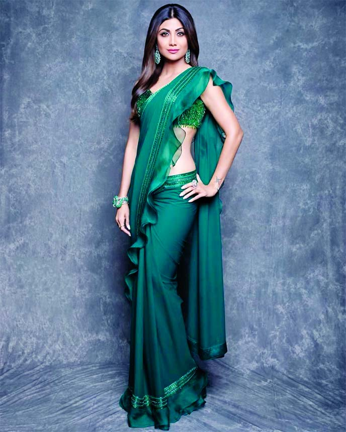Shilpa Shetty reveals her mantra of evergreen beauty with her fans