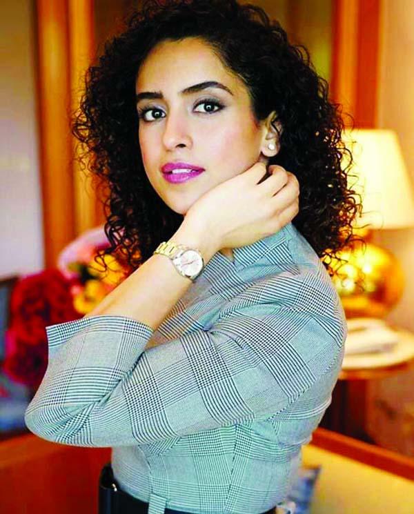 Sanya Malhotra says about her co-star Vidya Balan