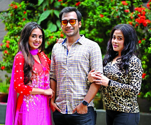 Tania Brishty, Shaon, Roohi's Eid drama Love With Benefit
