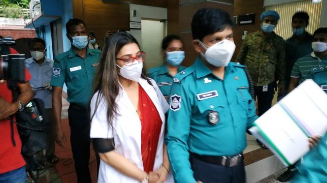 Dr. Sabrina arrested over fake COVID-19 tests