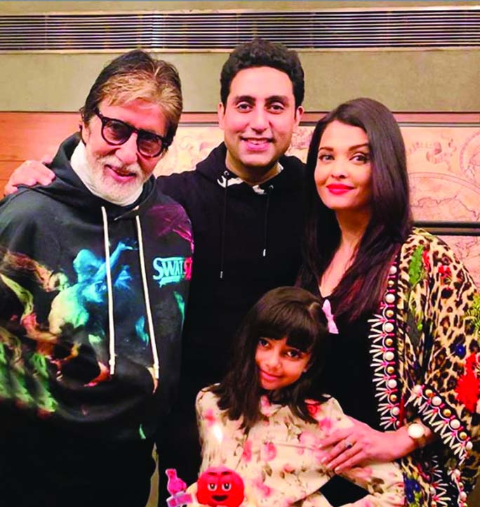 After Big B and Abhishek, Aishwarya & daughter test positive for Coronavirus