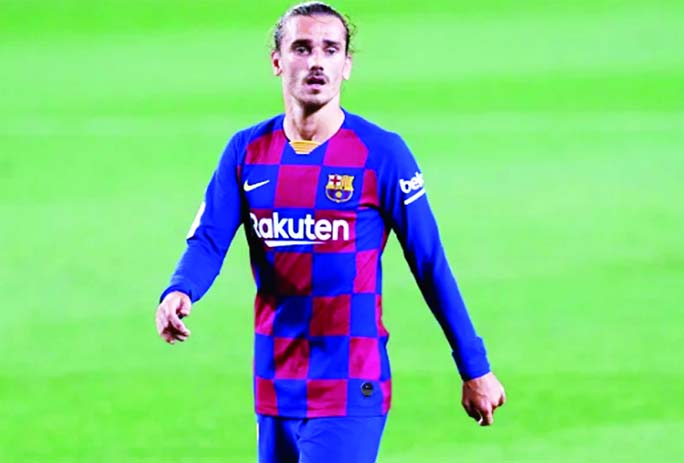 Barcelona suffer  Antoine Griezmann injury blow