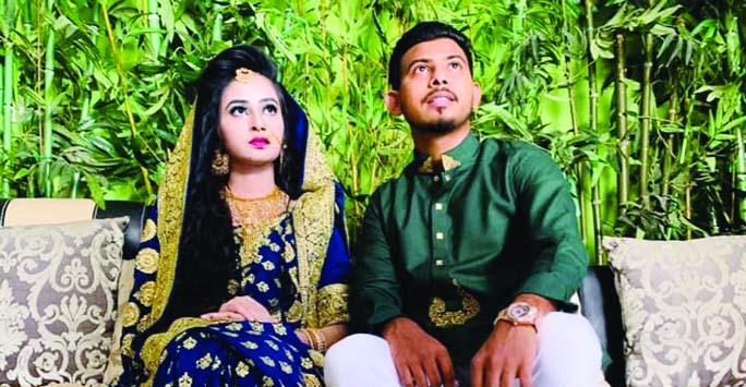 Mosaddek Hossain marries Umme Tamanna