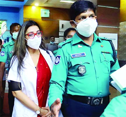 Dr Sabrina finally arrested, booked in a fraudulent case  Health Ministry  suspends her