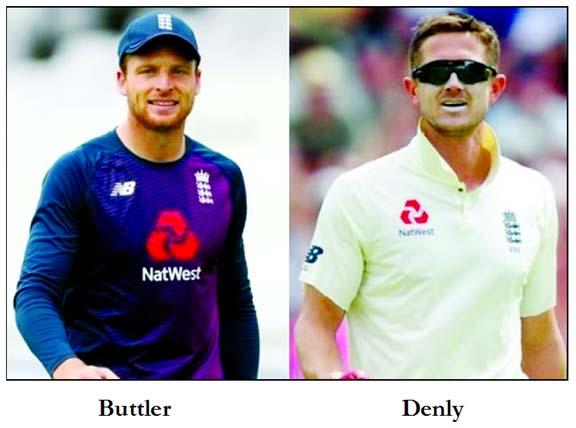 England to back Buttler, but Denly in the firing line