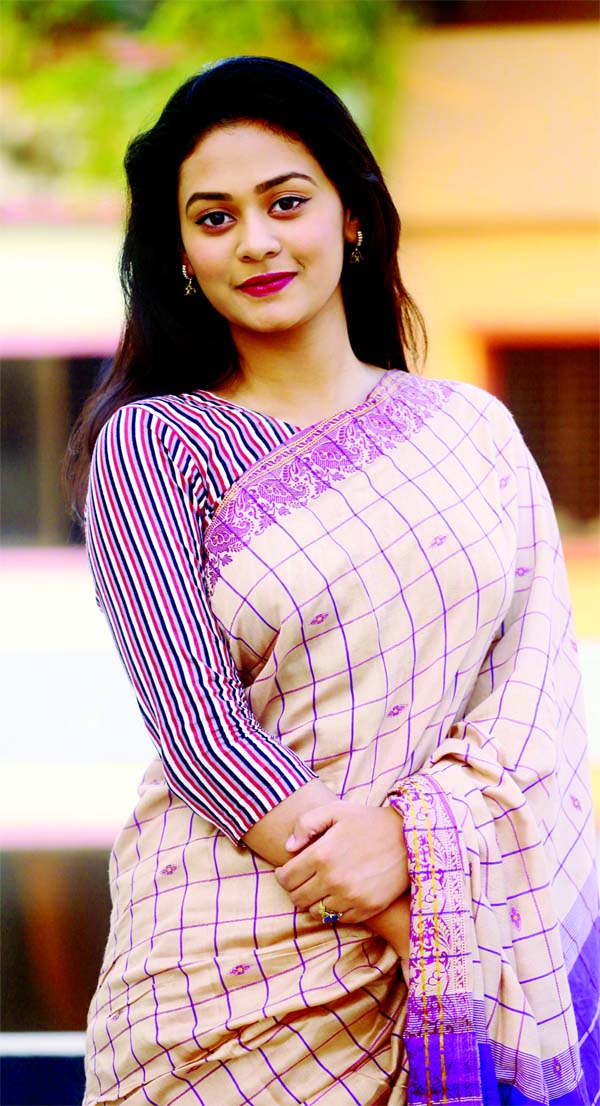 Tinni gets response for Meghmala