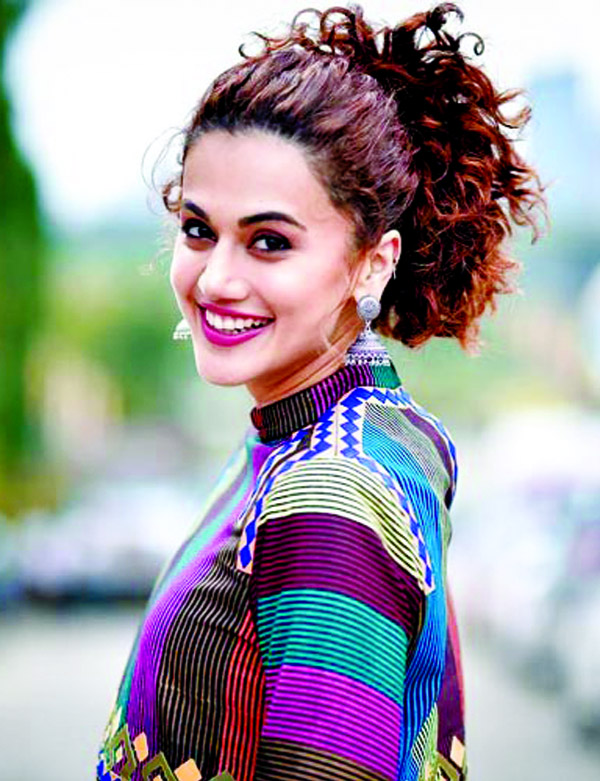 Taapsee Pannu's cryptic message for her enemies