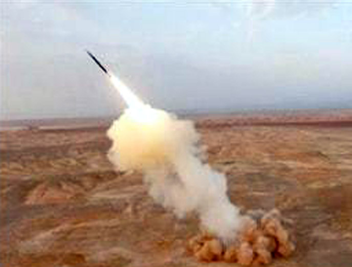 Tehran launches underground ballistic missiles during exercise