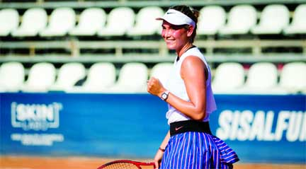 Donna Vekic wins as WTA Tour resumes in Italy