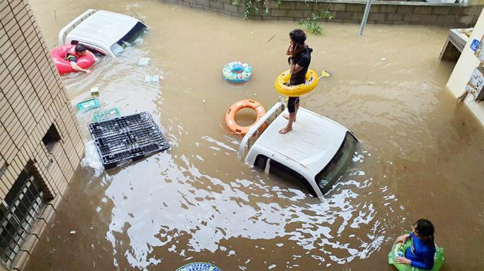 South Korea floods, landslides kill dozens, displace thousands