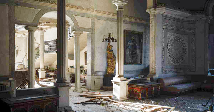 Beirut blast destroys iconic 19th Century Palace