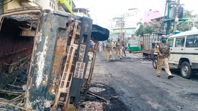 .Deadly clashes in India's Bengaluru over Facebook post on Prophet