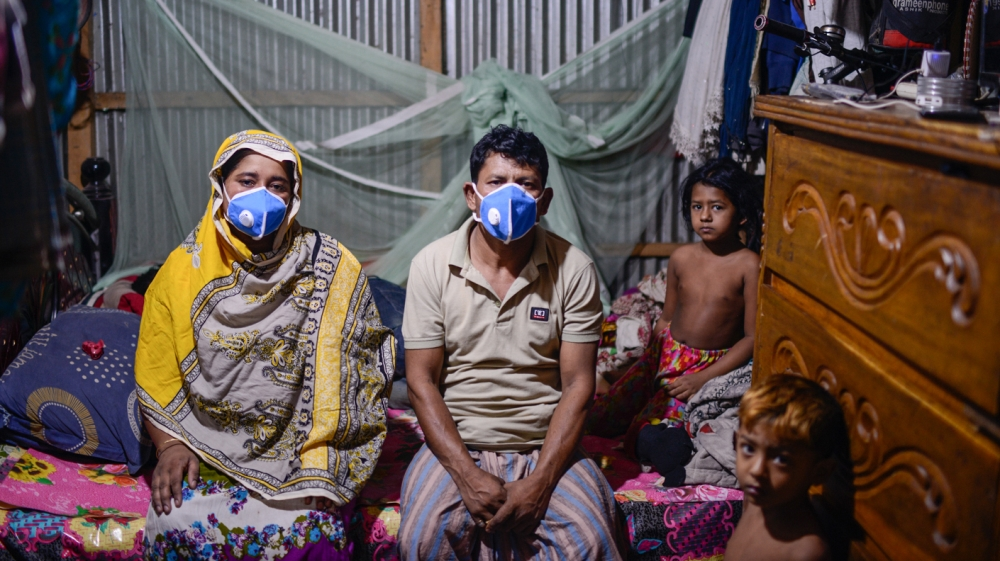 Bangladesh reports 2,617 new virus cases, 44 deaths in a day