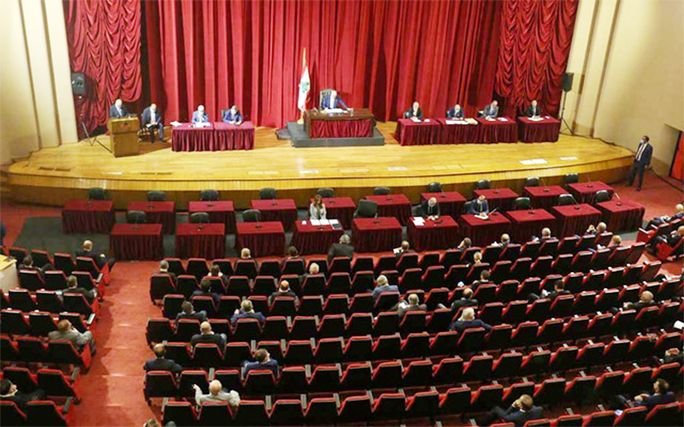 Lebanese MPs meet for first time since blast, US envoy due in Beirut