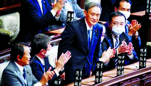 Yoshihide Suga: The 'right-hand man' became Japan's PM
