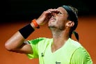 Nadal beaten in Italian Open but Novak Djokovic wins