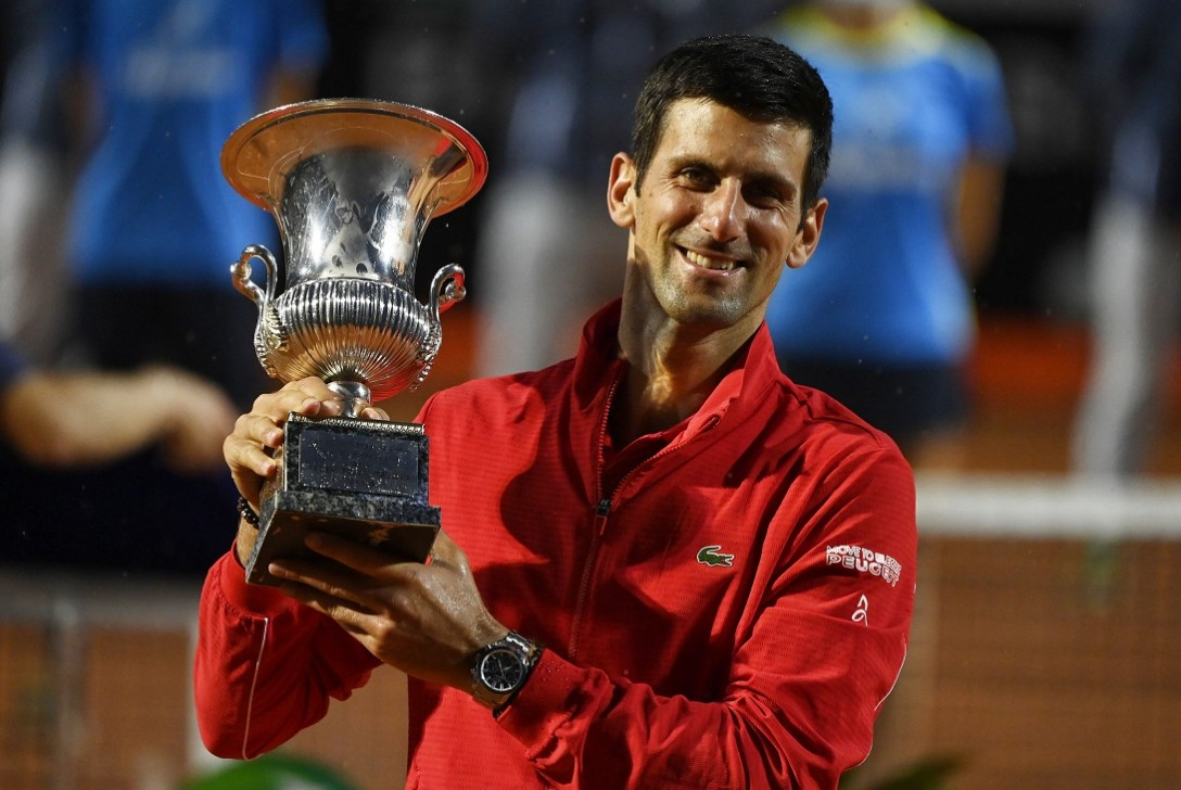 Djokovic wins Italian Open title