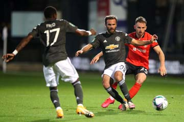 Mata, Rashford, Greenwood score in Man Utd's 3-0 win over Luton Town