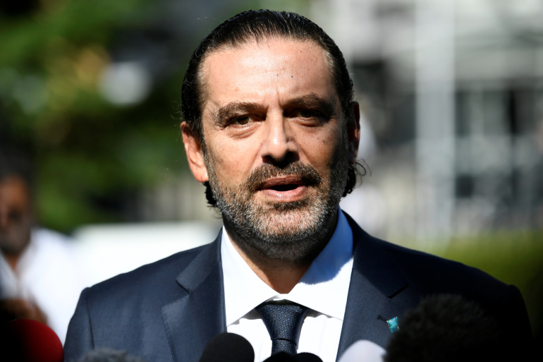 France backs Saad Hariri's proposal to end political deadlock