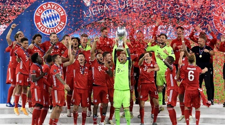 Bayern win UEFA Super Cup after epic battle against Sevilla