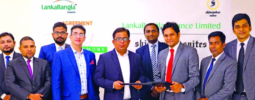 LankaBangla, Shinepukur Suites sign MoU