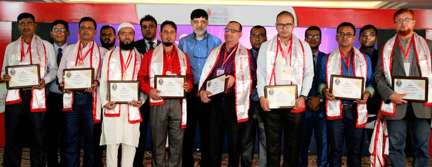 Rangpur Metal Industries Limited (RMIL), a sister concern of RFL Group, organized its Dealers' Conference at `The Palace Luxury Resort' in Habiganj recently. Top forty two dealers were awarded in the annual conference. Ahsan Khan Chowdhury, Chairman and Chief Executive Officer of PRAN-RFL Group, RN Paul, Managing Director of RFL Group, Md. Moniruzzaman, Director of Rangpur Metal Industries Ltd, Chowdhury Fazle Akbar, General Manager (Marketing) and Shahidul Islam, General Manager (Sales), among others, were present.