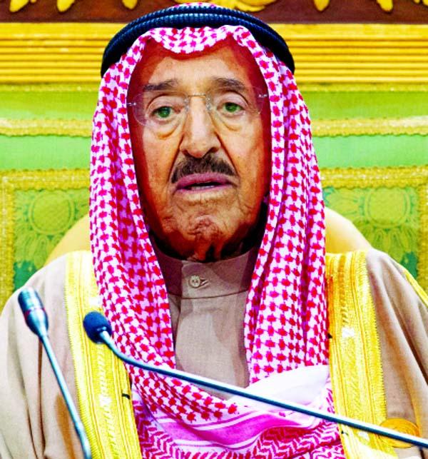 Kuwait's Emir Sheikh Sabah dies