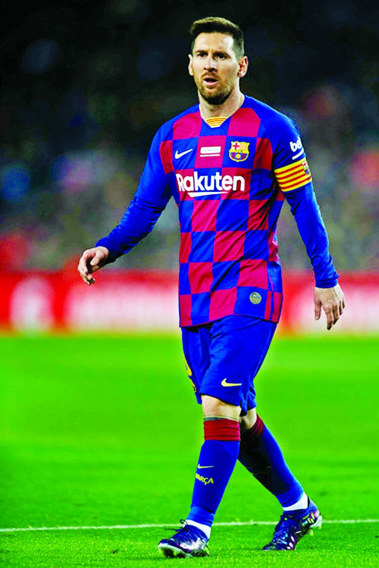 I want to 'put an end' to Barcelona feuding: Messi