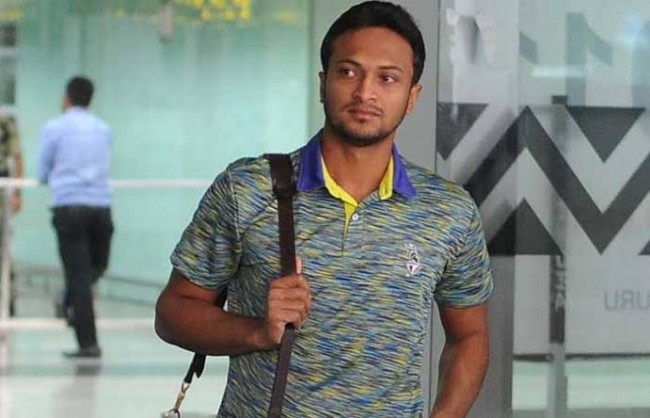 Shakib returns to USA after postponement of SL series