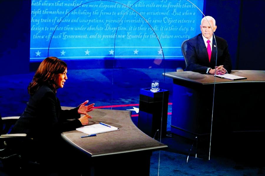 VP debate 2020: Pence and Harris clash on coronavirus pandemic