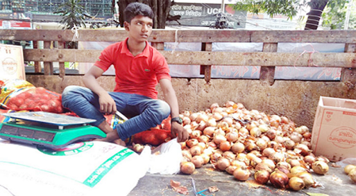 Imported onion Tk 30 per kg in Ctg