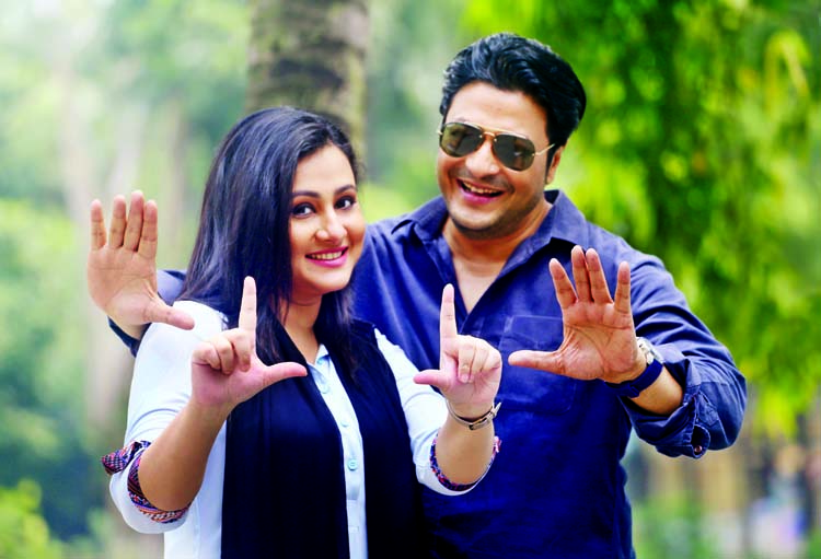 Purnima joins shooting with Ferdous after recovery