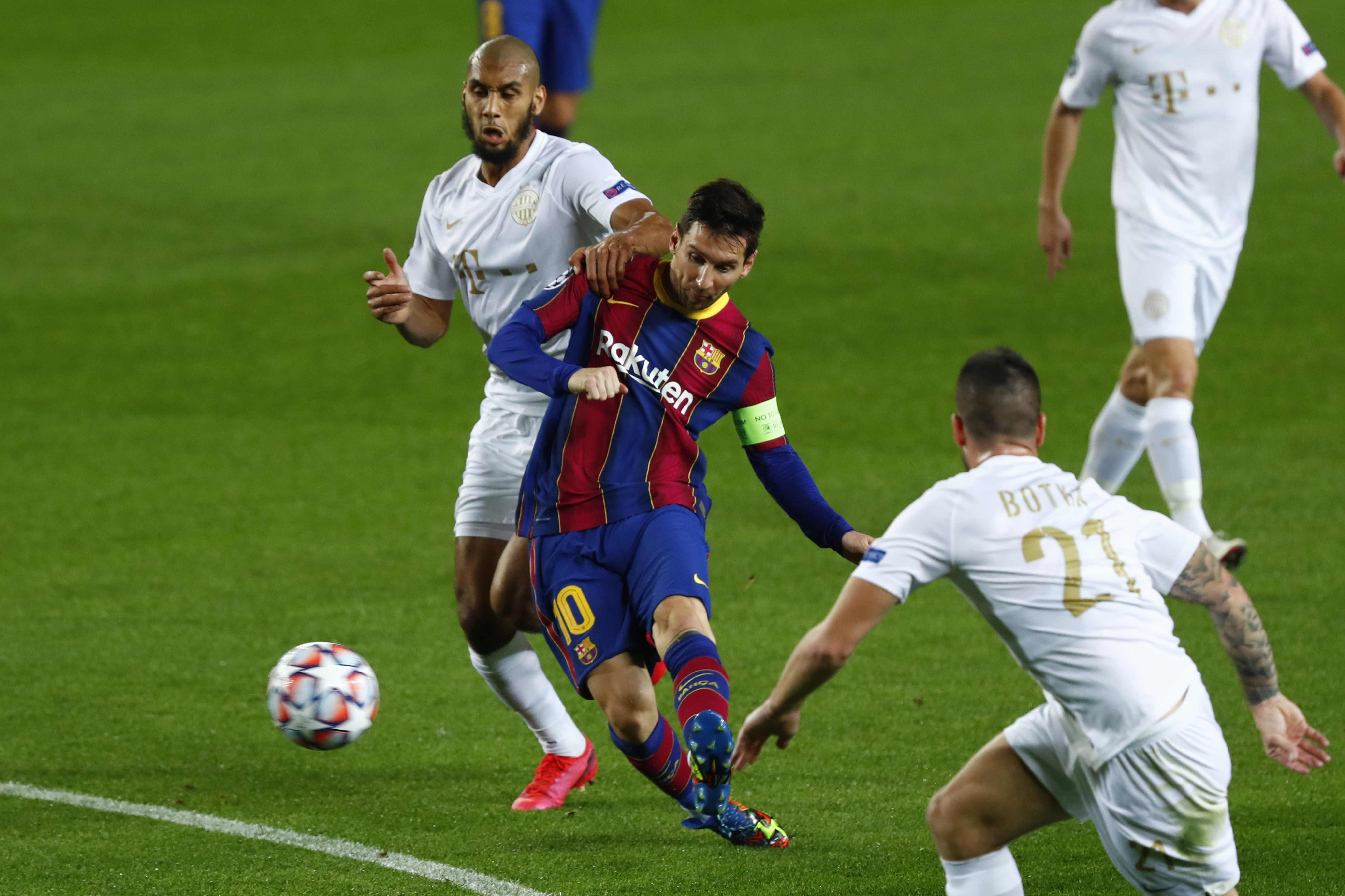 Comfortable win for Barca to start Champions League campaign
