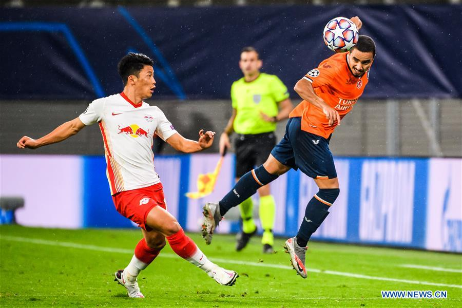 Leipzig start Champions League with win over Basaksehir