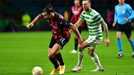 AC Milan defeat Celtic in Europa League