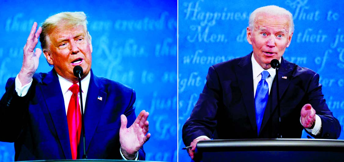 At last, a somewhat civil debate between Trump and Biden