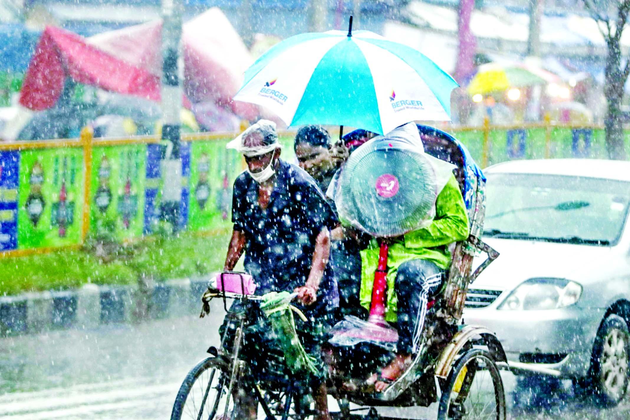 Rain across Bangladesh continues