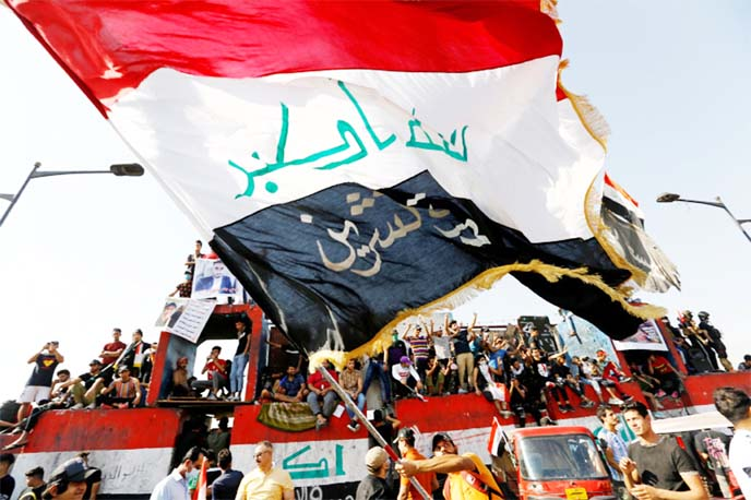 `Demands not met`: Anti-govt protests resume in Iraq