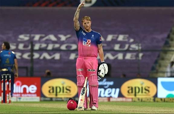 Stokes' ton keeps Royals in hunt for IPL play-offs, Chennai out