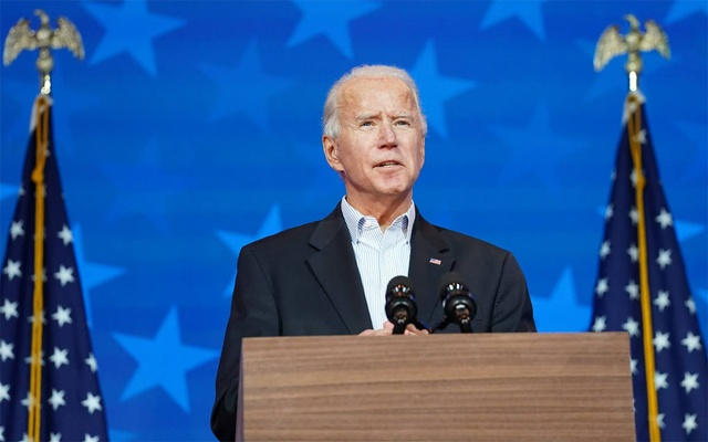 'We're going to win this race': Biden