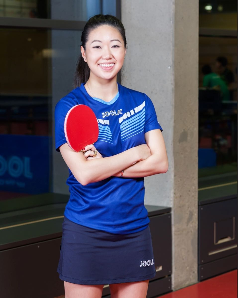 Lily Zhang continues to shine at ITTF World Cup