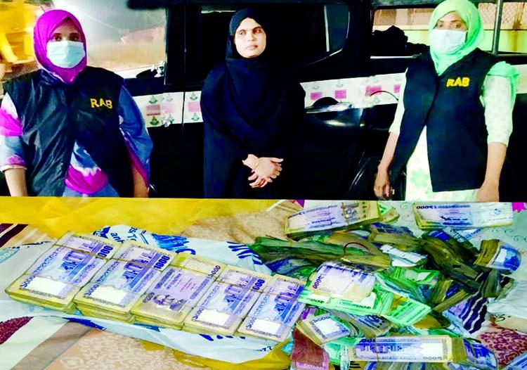 RAB nabs Rohingya couple with Tk 1.7 crore, yaba tablets